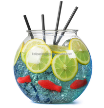 1 Galões De Plástico Crystal Clear <span class=keywords><strong>Cocktail</strong></span> Fish Bowl