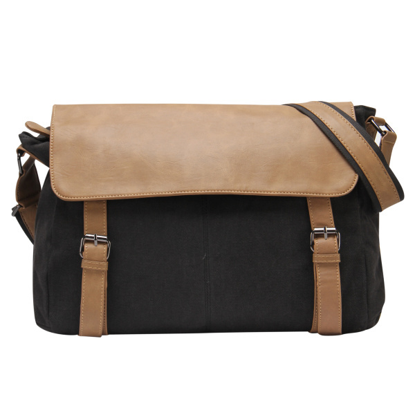 21fbdd4acc66 Get Quotations · VEEVAN men  women canvas messenger bags canvas travel shoulder  bag Leather casual bag Girls boys School
