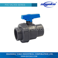 Agriculture equipment water supply plastic pvc valve
