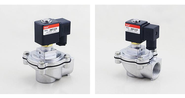 DMF Typ 1 ZOLL Electrovanne Magnetventil Membran Pneumatische Pulse Jet Reinigung Ventile