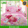 new design 3d printed cotton quilt cover 3d effect bedding set factory