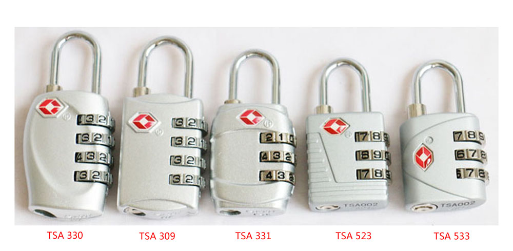 Combination Padlocks Honest 2xtsa Approve Luggage Travel Suitcase Bag Lock 3 Digit Combination Padlock Reset Factory Direct Selling Price