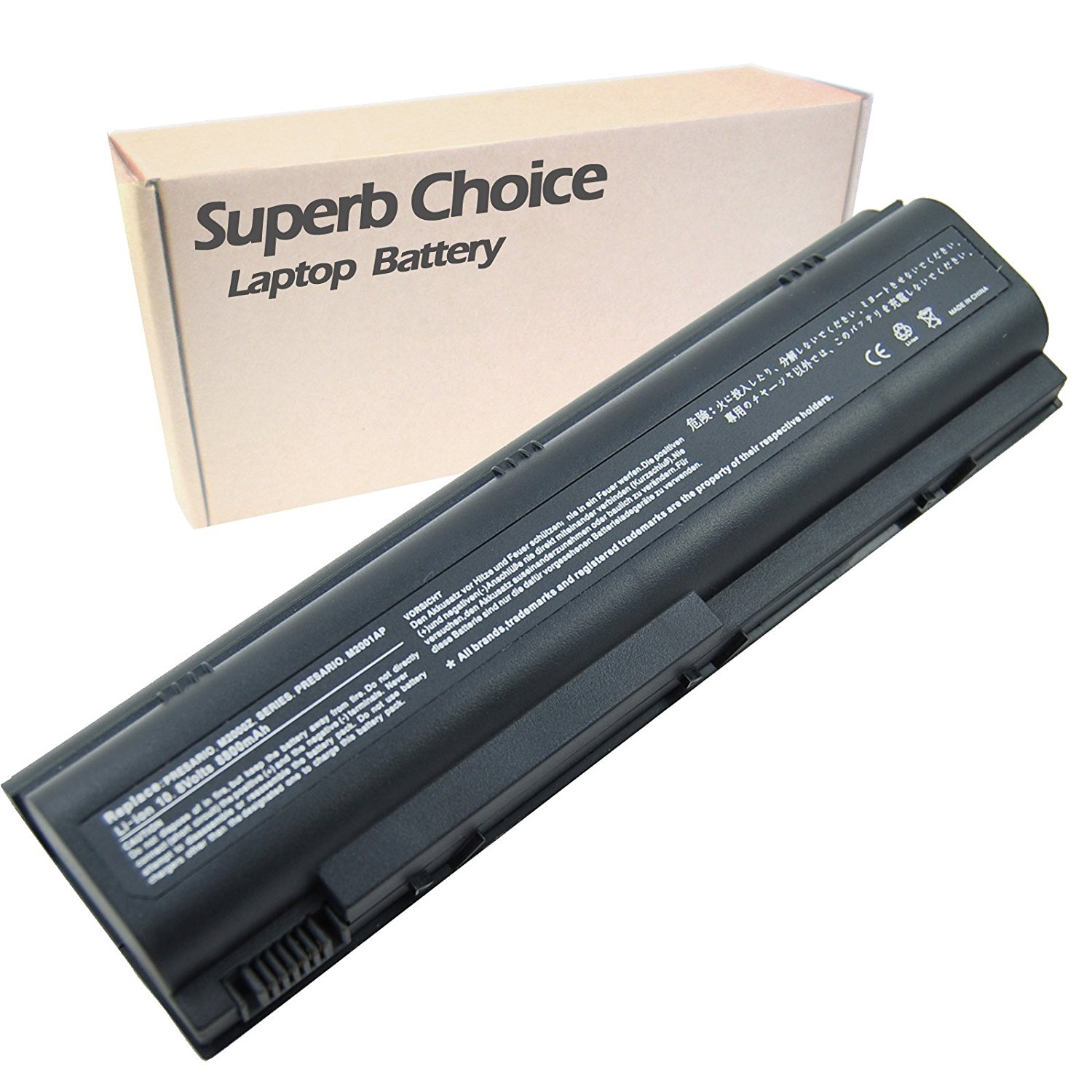 HP Pavilion dv4272us Laptop Battery - Premium Superb Choice® 12-Cell Li-ion Battery