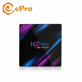 H96 MAX RK3318 2G/4G di RAM 16G/32G/64G ROM smart TV box Rockchip RK3318 android 9.0 tv box H96