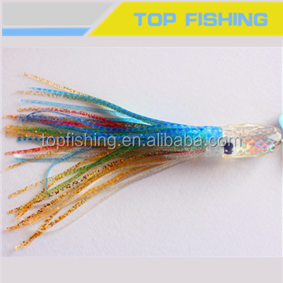 China supply squid soft lures, Marlin lures
