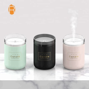 Portable candle shape aroma machine air humidifier