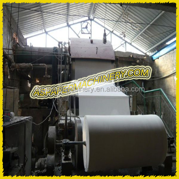 complete a3 a4 copy paper/ writing paper/ notebook paper making machine from paper mill machinery manufacturers in china