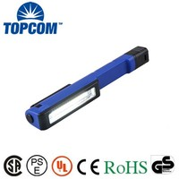 COB LED Pen Light with Pocket Clip , Mini LED Pen working light with Magnet