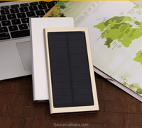 Super fast charge portable mobile power bank solar powerbank slim design solar power bank