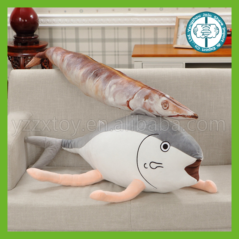 Wholesale cheap creative lovely and cute fish plush toys for wonderful gifts