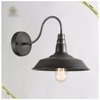 ManTsonG lighting simple black retro antique edison bulb wall lamp