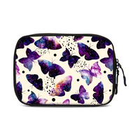 Alibaba online shopping lightweight colorful butterfly pattern fashion travel bag organizer