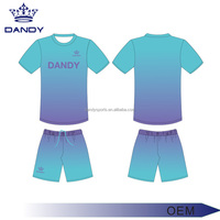 New bulk wholesale factory soccer jersey dry fit cool mesh material soccer jersey