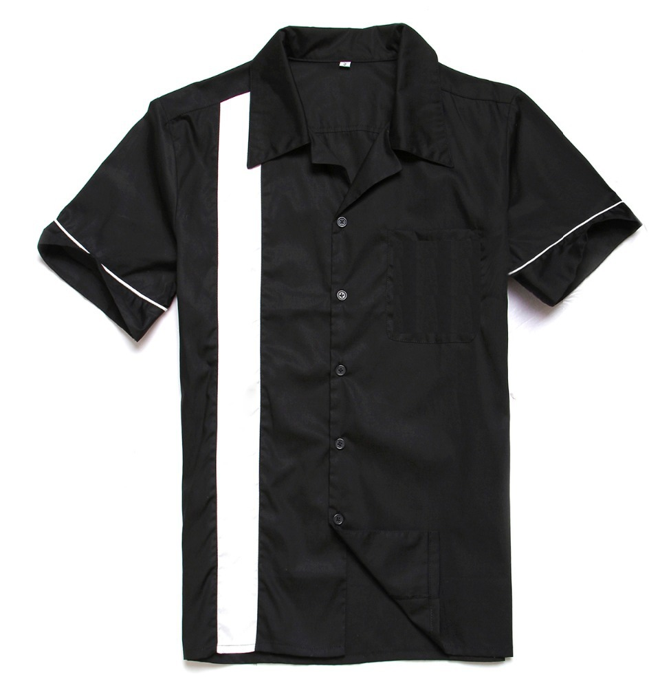 Alibaba.com / Clothing distributors mens short sleeves white piping embroidery casual collared cotton shirts