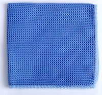 Absorbent Lint Free White Waffle Weave 100% Cotton Dishcloths Kitchen Wipes Towels
