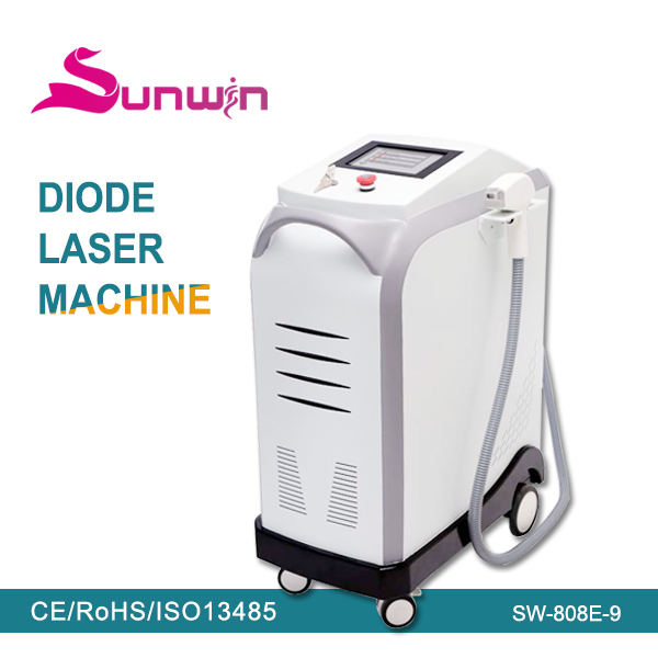 808nm diode laser electrolysis hair removal machine for body/ladies vagina hair removal machine