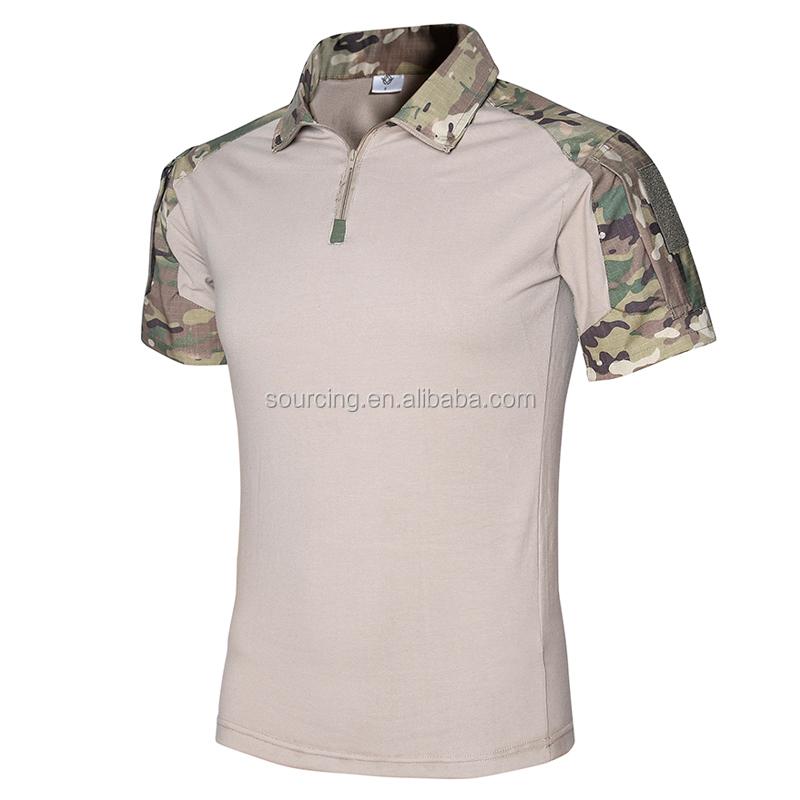 17 色戦術的暴行 OEM 軍事訓練シャツトップス狩猟シャツ