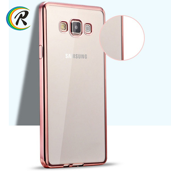 Fashion for samsung galaxy a5 cover for Galaxy J7 Electroplated tpu crystal colourful cellphone cover shell