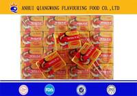 QWOK -10g/tablet x 15tablets/bag series bouillon cube halal tomato vegetables,chicken ,beef ,shrimp,etc cube