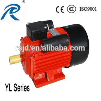 YL-801-2 series 1hp double value capacitor asynchronous motor