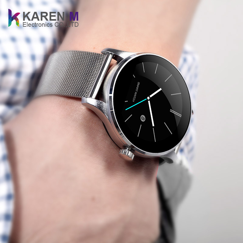 K88h Smart Watch - Bt Smart Watch With Heart Rate Monitor Stainless Steel  Band K88h Wristwatch For Android - Buy K88h Wristwatch,K88h Smart  Watch,K88h