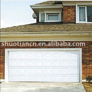 finger protect sectional garage door