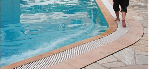Zwembad plastic raspen outdoor afvoer roosters zwembad for Zwembad plastic