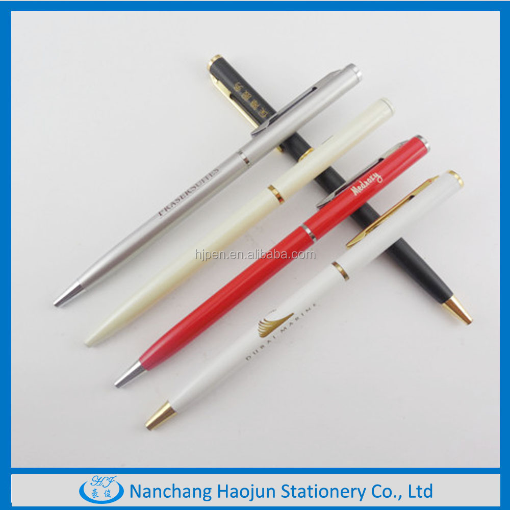 new style metal pen, metal ball pen with twist action,packing pen