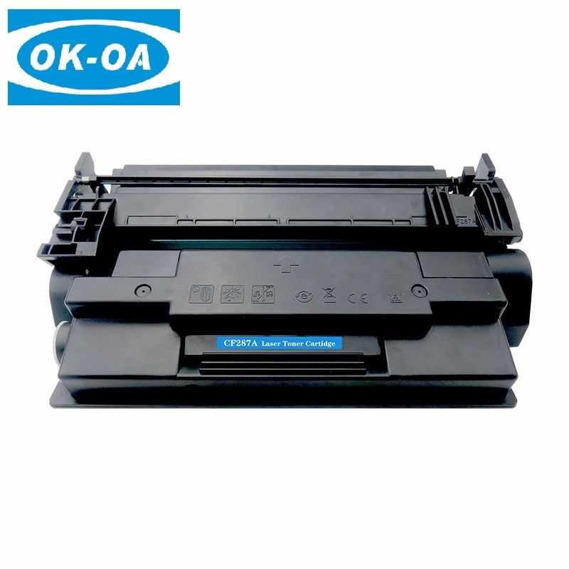 Good quality laser printer toner cartridge compatible for hp printer cf287a