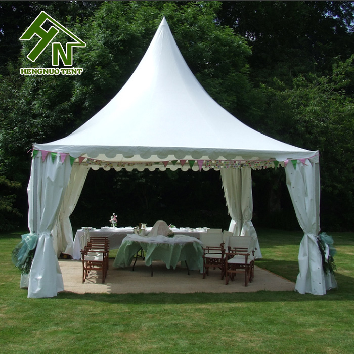 cheap china car parks sun shades fireproof canopy garden gazebo tent pagoda tent uv resistant with pvc sidewalls
