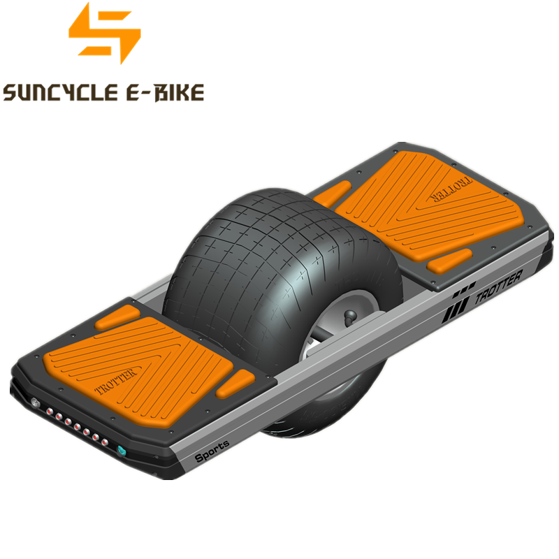 Suncycle single balance e scooter elektrisches radskateboard