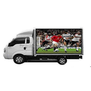 Cheap Outdoor Mobile Advertising LED Truck/ advertising vehicle