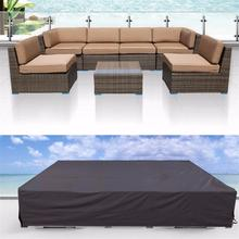 High Quality Cheap Waterproof Rattan Garden Outdoor Patio Furniture Cover