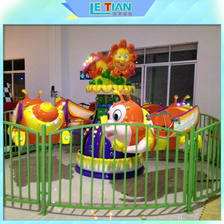 Used Playground Equipment Mini Merry go Round Self Control Plane for sale