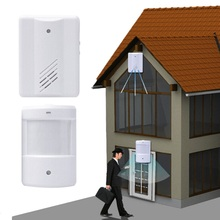 2016 Wireless Doorbell Range Remote font b Control b font with Infrared Wireless System Wireless Detector