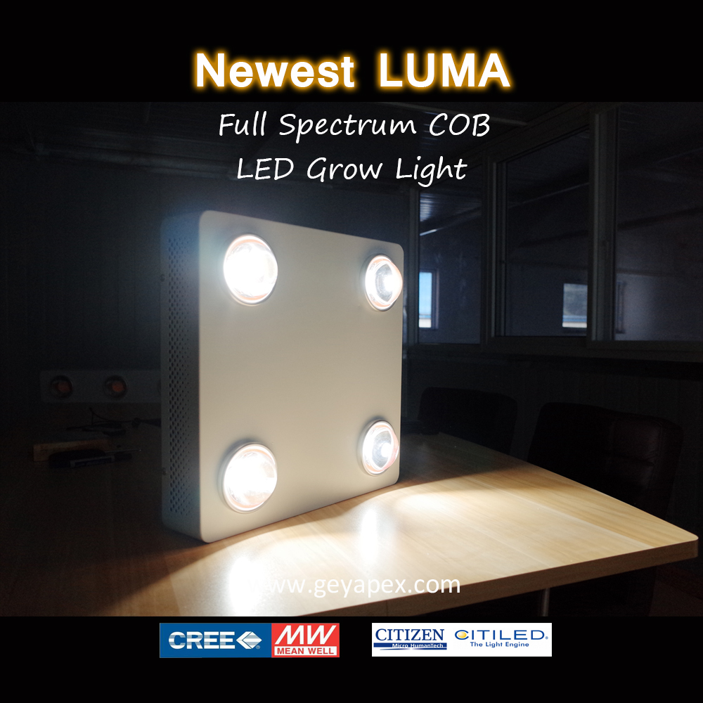 Dimmable function CXB3590 cob led grow light 320w panel grow full spectrum