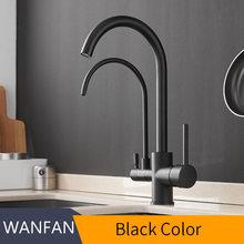 Фильтр для кухонных смесителей на бортике смеситель 360 Вращение с очисткой воды особенности смеситель кран для кухонных WF-0176(Китай)