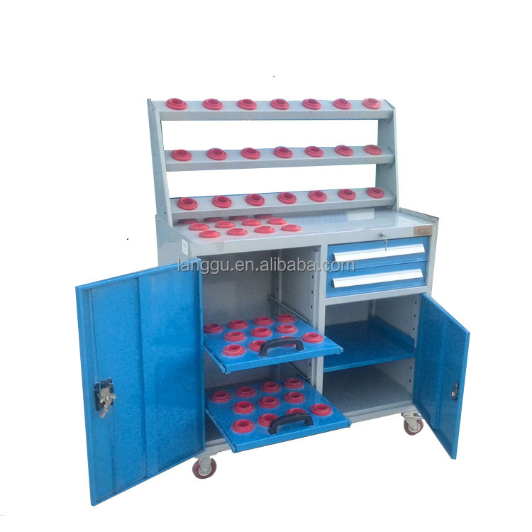 high quality CNC Cutting Tools Trolley drawing storage cabinet