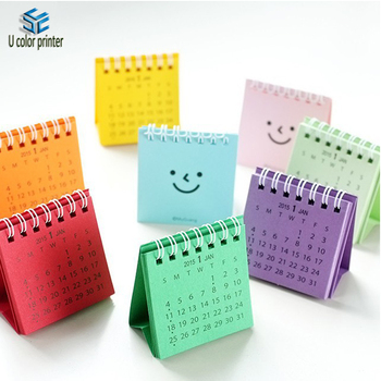 Cute Small Table Calendar Offset Printing For Office Students Buy