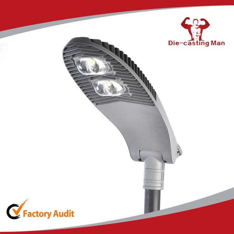 70 Watt IP65 Aluminum Die Cast LED COB Street Light Fixtures