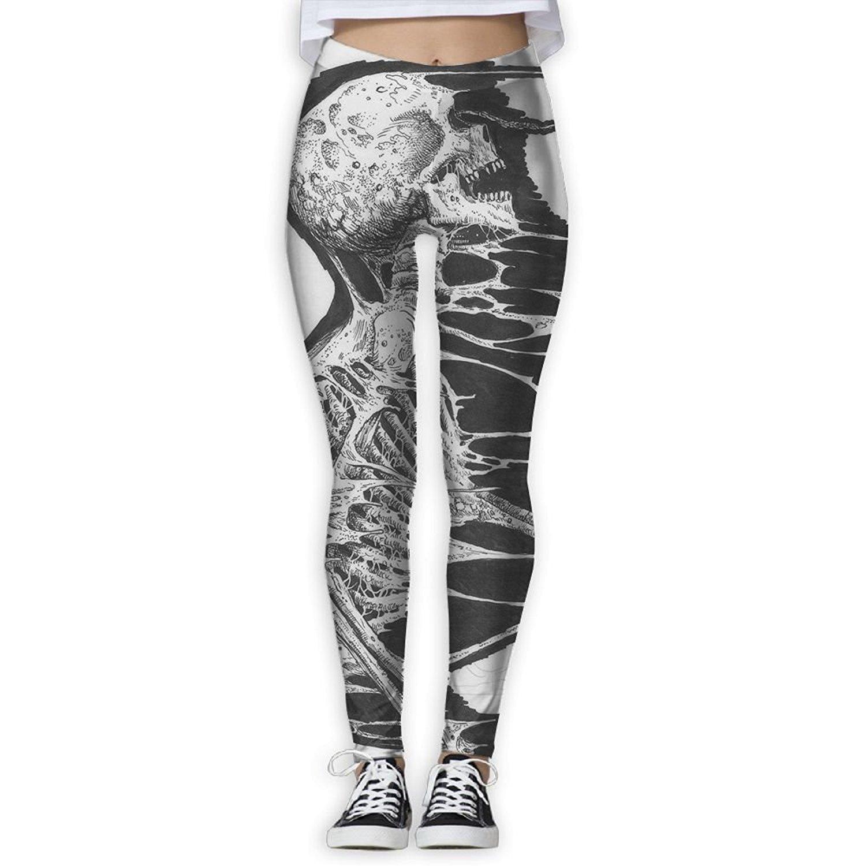 a53ebbf0dd111 Get Quotations · Ml Koou Cool Skeleton Skull Yoga Pants For Women Workout  Leggings Running Pants Women Yoga Leggings