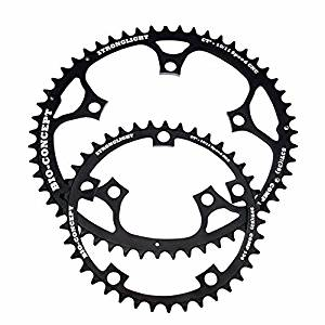 Stronglight Bio Concept Kit CT2 Ceramic Teflon Black Time Trial 130mm Shimano Chainring 39T and 52T