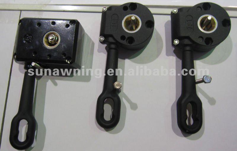 Caja de engranajes para toldo manual accesorios de for Accesorios para toldos
