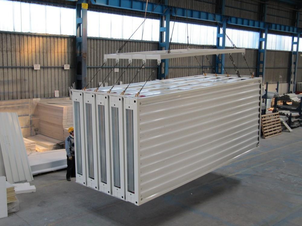Light sistema de casa contenedor modular de acero dkp precio del iraq y rabe casas - Casas de acero precios ...