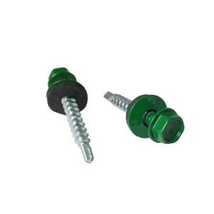 Paint head hex washer head self drilling roofing screw