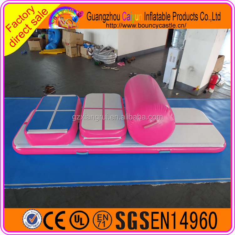 Gym mat high jump mats for sale/inflatable air track for sale