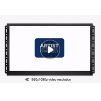 15.6 inch wall mounted lcd advertisement display screen with extra buttons
