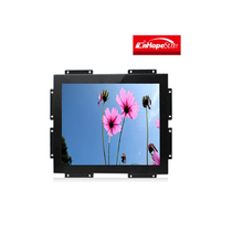 19 24 inch led general touch screen open frame monitor with vga dvi