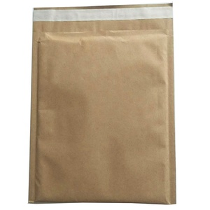 100% Recyclable Material Custom Envelope Cellular Form Kraft Paper lining Padded Brown Mailer