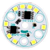 good price high lumen linear ic driverless ac220v smd2835 3w5w7w9w12w bulb down light ac dob led module